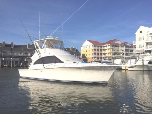 Used Ocean Yachts 42 Super Sport Convertible Fishing Boat For Sale