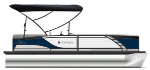 New Godfrey Pontoons Monaco 255 DFL iMPACT PLUS 29 in. Center Pontoon Boat For Sale
