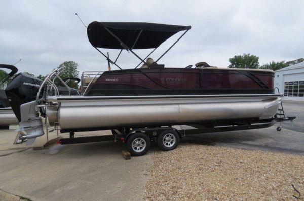 New Godfrey Pontoons Monaco 255 RL iMPACT PLUS 29 in. Center Pontoon Boat For Sale