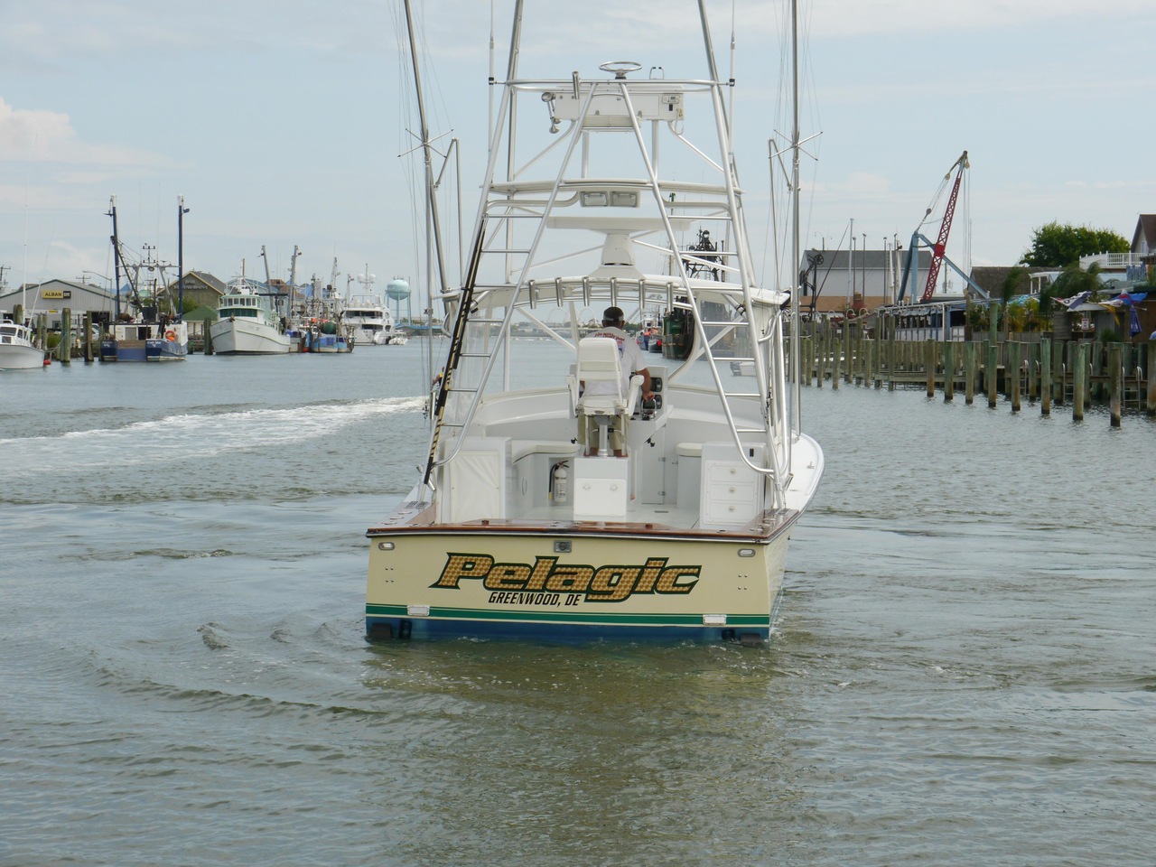 2008 used judge custom 34 custom express saltwater fishing for Offshore fishing boats for sale