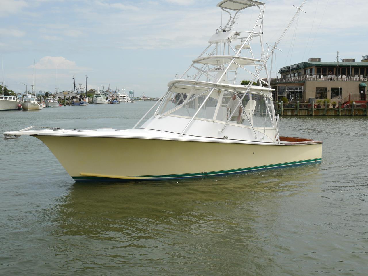 2008 used judge custom 34 custom express saltwater fishing for Saltwater fishing boats for sale