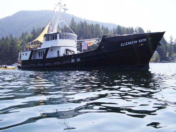 Used Custom Robinson Modified Monk Trawler Boat For Sale