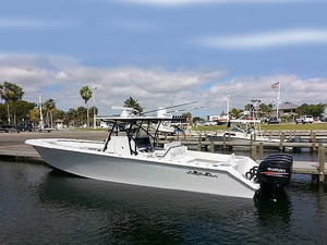 Used Sea Hunter Tournament 37 Center Console Fishing Boat For Sale