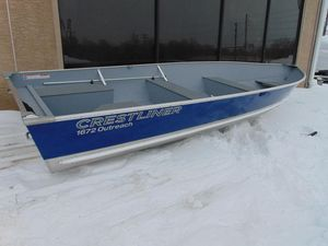 New Crestliner 1672 Outreach Freshwater Fishing Boat For Sale