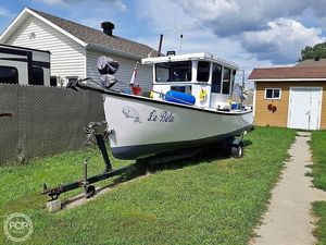 Used Custom Cape Islander 20 Lobster Fishing Boat For Sale