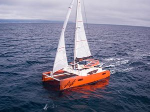 Used Scape 40' Sport Catamaran Sailboat For Sale