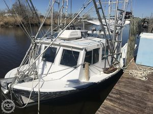 Used Custom Built Lafitte Skiff Commercial Boat For Sale