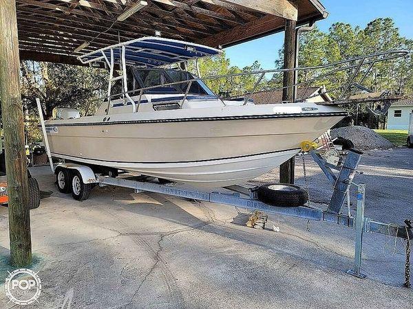 Used Chaparral 234 Fisherman Walkaround Fishing Boat For Sale