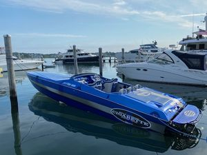 Used Cigarette 38 Top Gun High Performance Boat For Sale