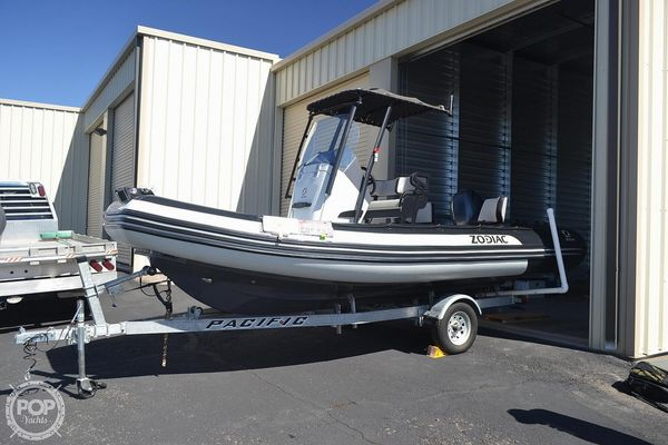 Used Zodiac 5.5 Open Inflatable Boat For Sale