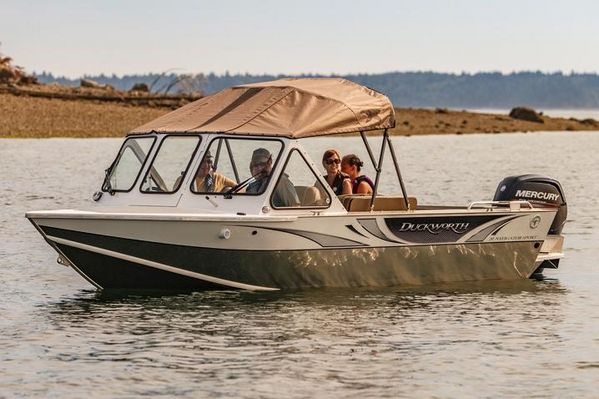 New Duckworth 20 Pacific Navigator Sport Freshwater Fishing Boat For Sale