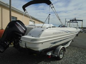 Used Starcraft Limited 1915 OB Deck Boat For Sale