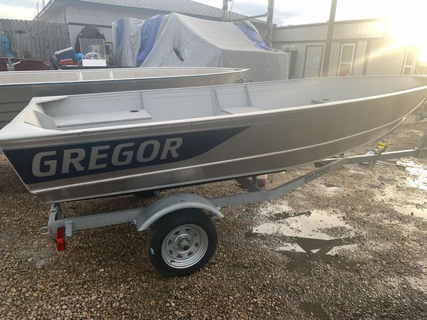 Used Gregor CH45L Freshwater Fishing Boat For Sale