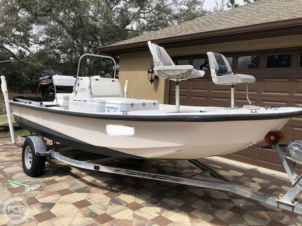 Used Dynasty Polar 17 Skiff Fishing Boat For Sale