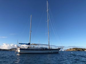 Used Irwin Charter Layout Power Cruiser Sailboat For Sale