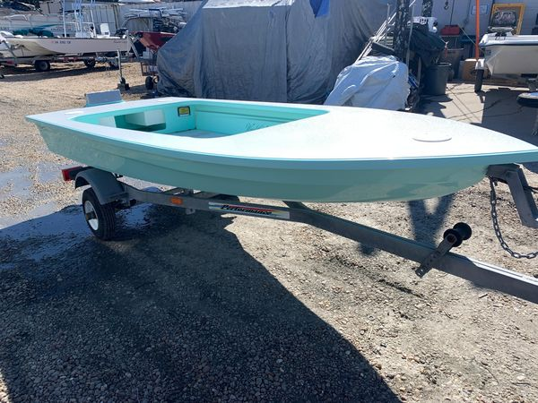 Used Skiff Wright Water 12 Flats Fishing Boat For Sale