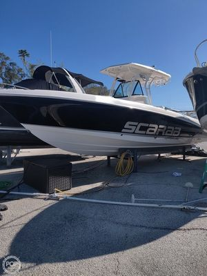 Used Scarab 302 Tournament Offshore Center Console Fishing Boat For Sale