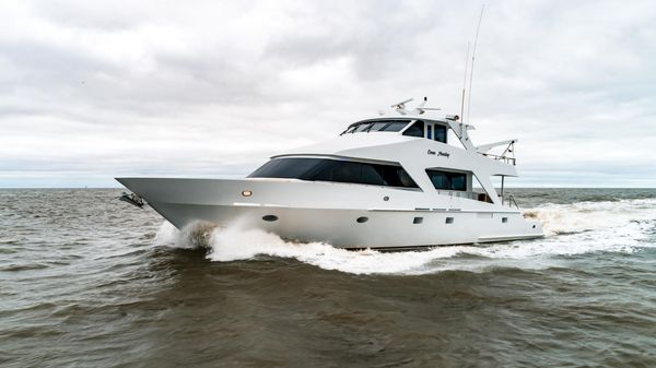 Used Breaux Brothers Enclosed Bridge Cockpit Motor Yacht For Sale