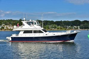 Used Hampton 560 Sedan Bridge Trawler Boat For Sale