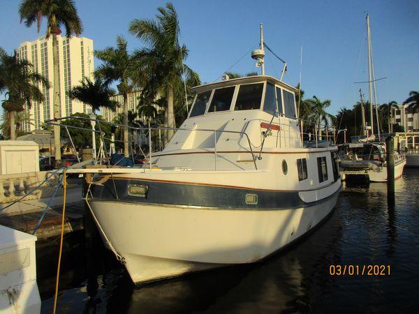 Used Kadey Krogen Manatee Trawler Boat For Sale