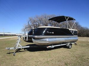 Used Silver Wave 230 Grand Costa L Pontoon Boat For Sale