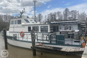 Used Custom Built 46 Trawler Boat For Sale
