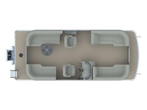 New Godfrey SW 2286 SBX Sport Tube 27 in. Pontoon Boat For Sale