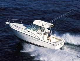 Used Rampage 30 Express Freshwater Fishing Boat For Sale