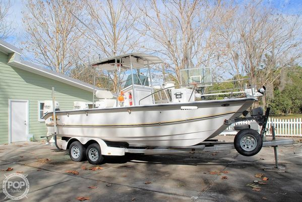 Used Twin Vee 22 Awesome Cat Power Catamaran Boat For Sale