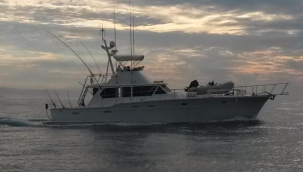 Used Vic Franck Marilineer Sportfisher Sports Fishing Boat For Sale