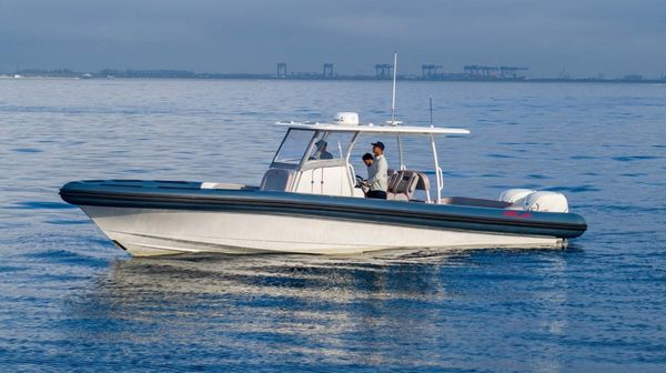 Used Ocean 1 Rouge 370 Center Console Fishing Boat For Sale