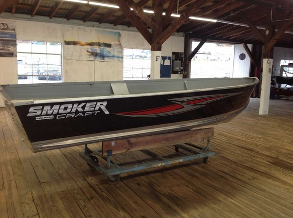 New Smoker Craft 14 VOYAGER TS SS Ski and Fish Boat For Sale