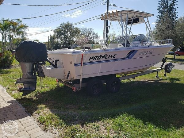 Used Pro-Line 230 Cuddy Fish Walkaround Fishing Boat For Sale