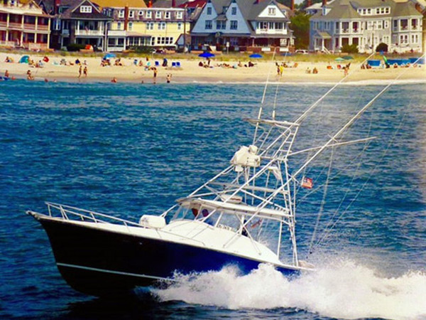 Used Egg Harbor Custom Express Saltwater Fishing Boat For Sale