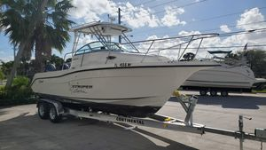Used Striper 2601 Walkaround OB Saltwater Fishing Boat For Sale