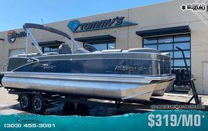 New Tahoe 2585 Cascade Platinum Quad Lounger Pontoon Boat For Sale