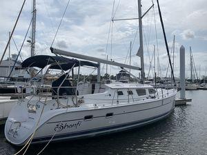 Used Hunter 44 Deck Salon Cruiser Sailboat For Sale