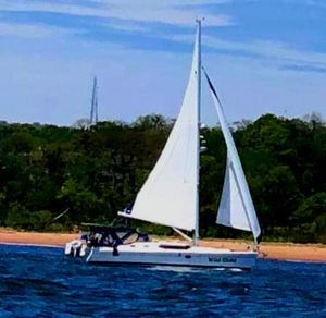 Used Hunter Deck Salon Deck Saloon Sailboat For Sale