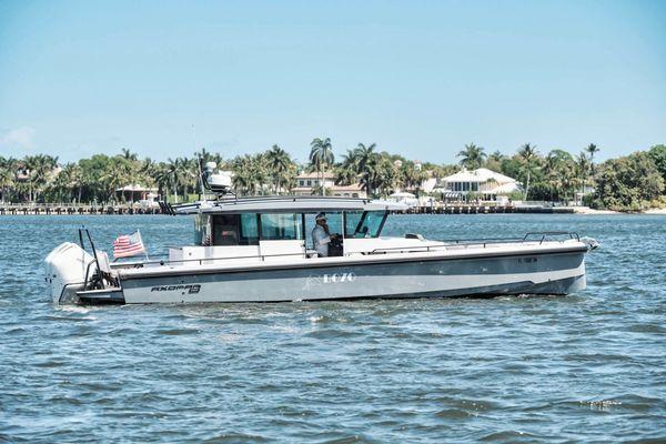 Used Axopar 37 Cabin Brabus Edition Center Console Fishing Boat For Sale