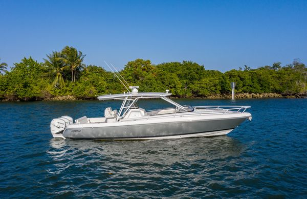 Used Intrepid 375 WA Express Cruiser Boat For Sale