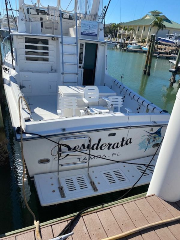 Used Roberts Custom Sports Fishing Boat For Sale