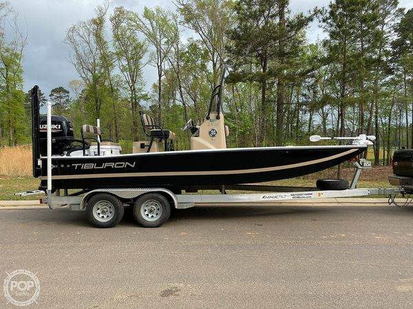 Used Tiburon ZX22 Flats Fishing Boat For Sale