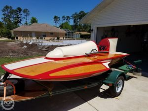 Used Classic Handcrafted Clarkcraft Design Hydroplane Antique and Classic Boat For Sale