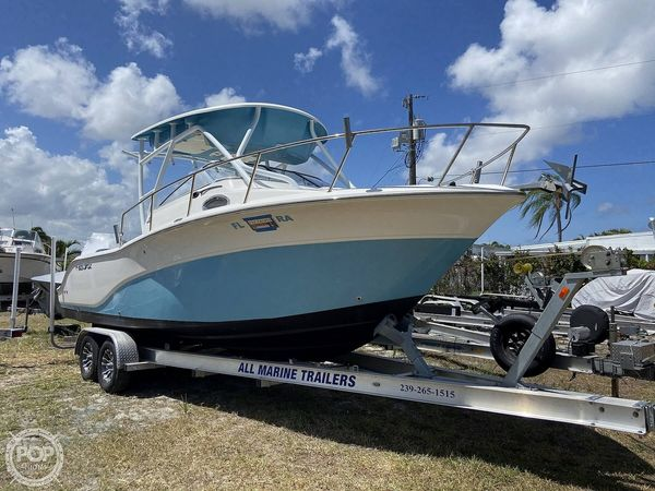 Used Sea Fox 256 Voyager Walkaround Fishing Boat For Sale