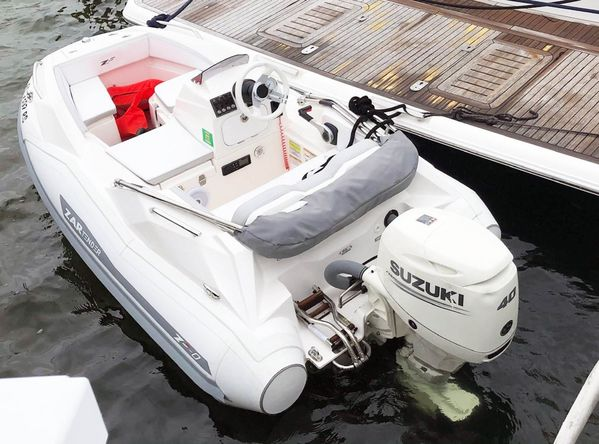 Used Zar Formenti ZF-0 Tender Boat For Sale