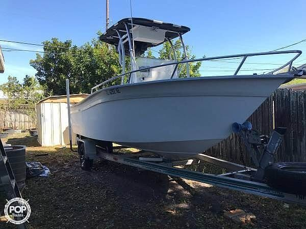 Used Cape Horn 19 Center Console Fishing Boat For Sale