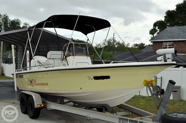 Used Key West 216 Bay Reef Center Console Fishing Boat For Sale