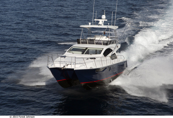 Used Mares Catamarans Yacht Fish Power Catamaran Boat For Sale