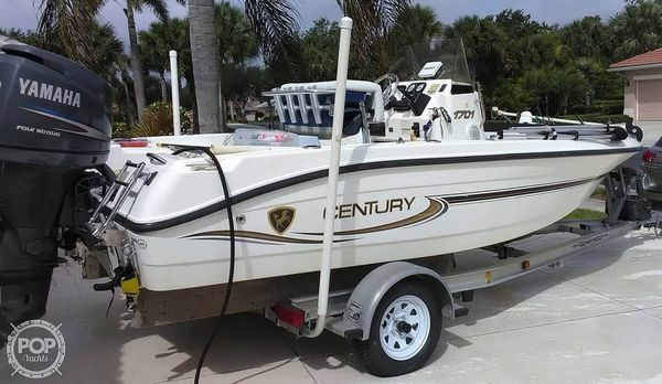 Used Century 1701 CC Center Console Fishing Boat For Sale