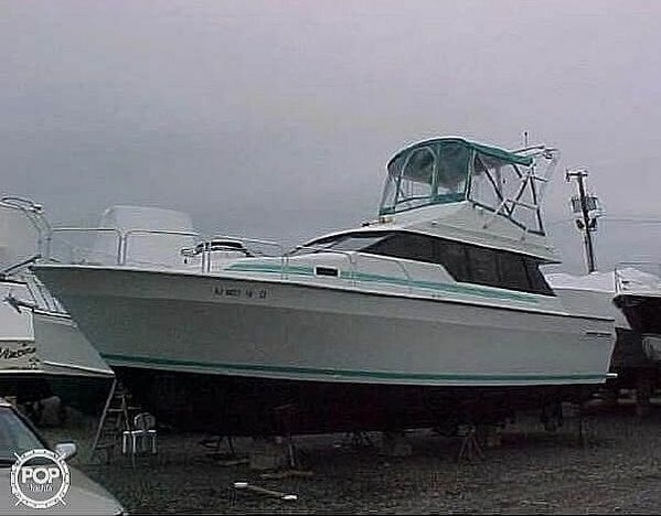 Used Mainship 35 Mediterranean Sports Fishing Boat For Sale